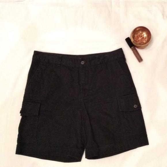 3a6552d867 Chaps women's size 10 black cargo shorts